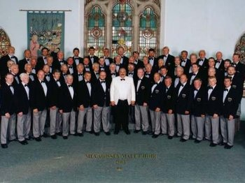 Cornwall International Male Voice Choral Festival: Finale International Gala Concert: Mevagissey Male Voice Choir, Carlton Male Voice Choir, Peterborough Male Voice Choir, Tideswell Male Voice Choir, Sydney Male Voice Choir, Viola Men's Chorus picture