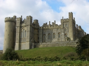Arundel Castle artist photo