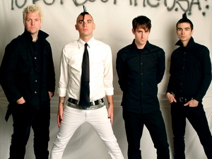Anti-Flag artist photo
