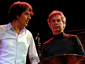 Bill Bruford & Michiel Borstlap artist photo