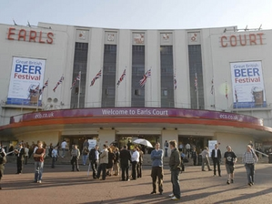 Earls Court Exhibition Centre artist photo