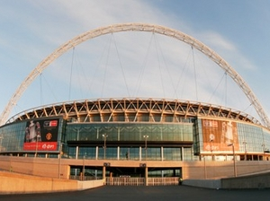 Wembley Stadium artist photo