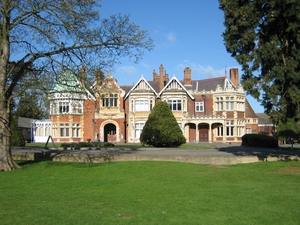 Bletchley Park artist photo