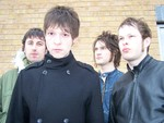 The Antarctic Monkeys artist photo