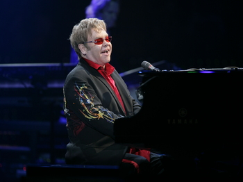 Elton John And His Band: Elton John picture