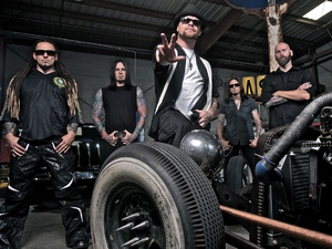 Five Finger Death Punch artist photo