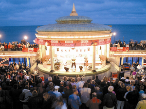 Eastbourne Bandstand artist photo