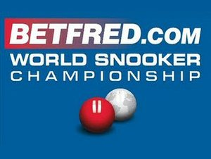 Betfred.com World Snooker Championships artist photo