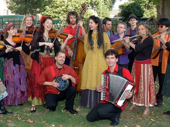 Balkanika Britannika: London Gypsy Orchestra, Tatcho Drom, Mark Glanville, Nicola Burnett-Smith picture