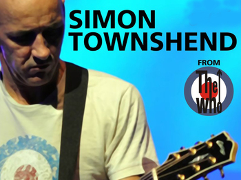 Simon Townshend (From The Who) picture