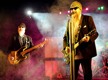 The ZZ Tops + Support picture