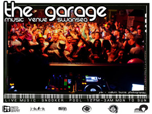 The Garage Music Venue Swansea artist photo