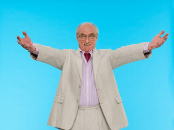 Shaken Not Stirred: Henry Blofeld picture