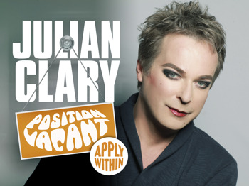 Position Vacant, Apply Within: Julian Clary picture