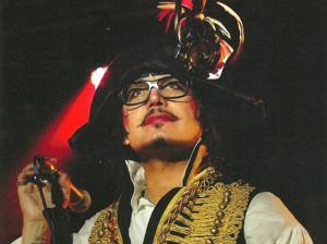 Adam Ant & The Good The Mad & The Lovely Posse artist photo