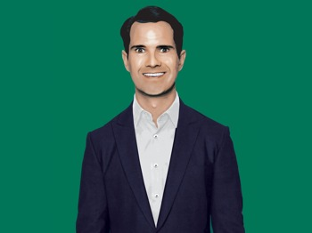 Jimmy Carr artist photo
