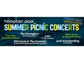 Lulu Hampton Open Air Swimming Pool Hampton
