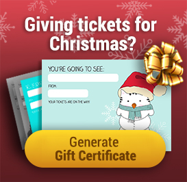 Giving tickets for Christmas? Generate a Gift Certificate