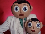 Frank Sidebottom artist photo