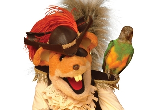 Basil Brush artist photo