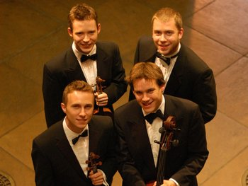 The Doric String Quartet artist photo