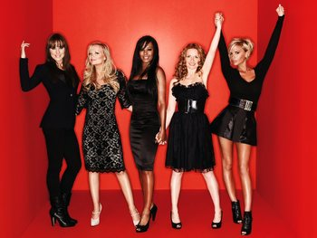 The Spice Girls artist photo