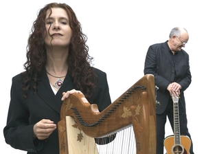 Máire Ní Chathasaigh & Chris Newman artist photo
