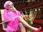 Dame Edna Everage artist photo
