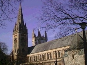 Llandaff Cathedral artist photo