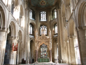 Peterborough Cathedral artist photo
