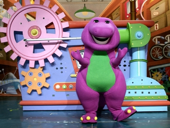 Barney, Friends picture