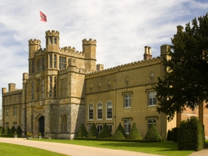 Coughton Court artist photo