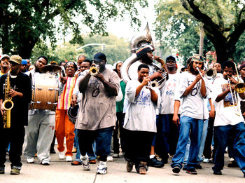 Hot 8 Brass Band artist photo