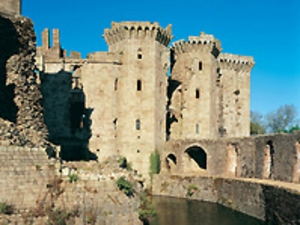 Raglan Castle artist photo