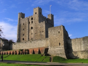 Rochester Castle artist photo