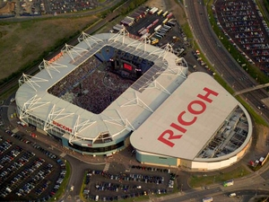 Ricoh Arena artist photo