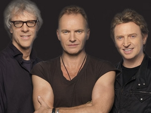 The Police artist photo