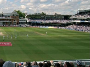 Lords Cricket Ground artist photo