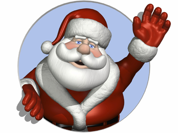 Christmas At MOSI: Father Christmas picture
