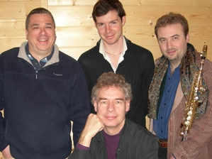 Bill Bruford's Earthworks artist photo
