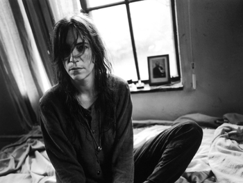 Patti Smith artist photo