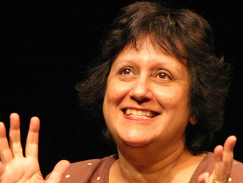 Yasmin Alibhai-Brown artist photo