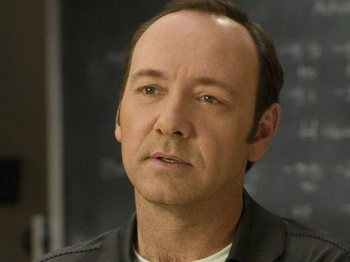 Kevin Spacey artist photo