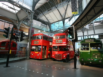London Transport Museum venue photo