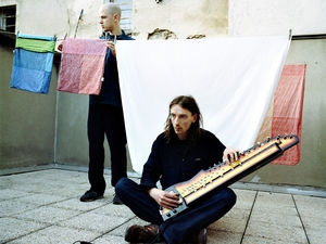 Michael Flower & Chris Corsano artist photo
