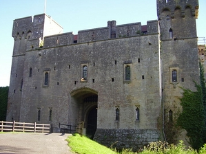 Caldicot Castle & Country Park artist photo