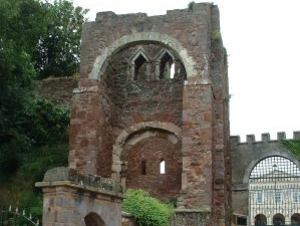 Exeter Castle (Rougemont Castle) artist photo