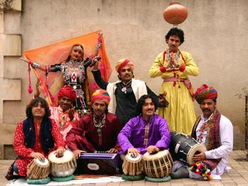 Dhoad Gypsies From Rajasthan picture