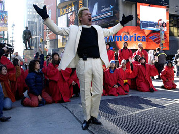 Reverend Billy & The Gospel Choir of Stop Shopping artist photo
