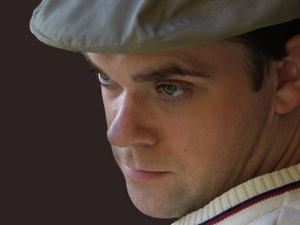 JK as Robbie Williams artist photo